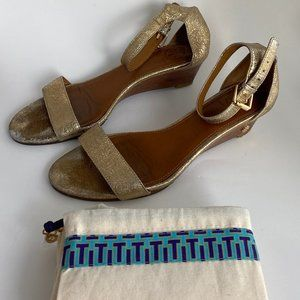 Authentic Tory Burch Wedge Shoes